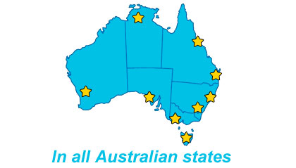 Duplex Healthcare offices In all Australian States