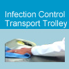 Watch the video on how to clean medical transport system