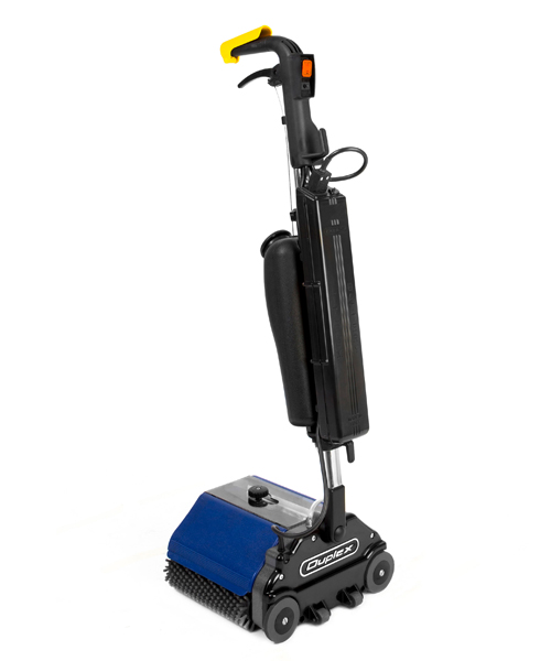 Duplex Lithium mini floor cleaner that is battery powered for healthcare cleaning